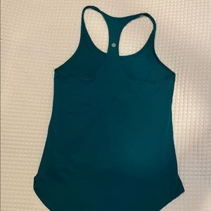 Lululemon green razor back tank